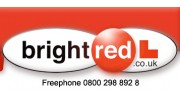 Bright Red L Driving School