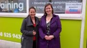 MP Meg Hillier visits Free2Learn